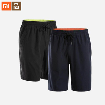 Xiaomi Mijia men's summer cool stretch sports shorts sweat-absorbent breathable quick-drying belt fluorescent loose shorts smart
