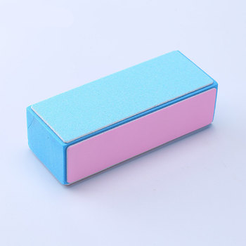KESMALL New 4Pcs/Lot Sanding Sponge Nail File Buffer Nail Polish DIY Nail Art Manicure Tool Women Portable Beauty Tools XN149M 2