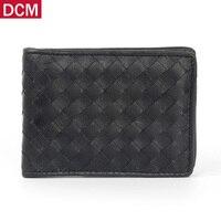Genuine Leather Driving License card Holder ID Business Card Holder Travel Credit Wallet for Men Sheepskin kniting Bag