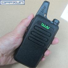 Oppxun novo KD-C1 mini portátil walkie talkie uhf 400-470 mhz 5w