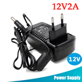 Power Adapter AC100-240V To DC 12V2A Cable Power Supply Adapter For CCTV Security Camera System