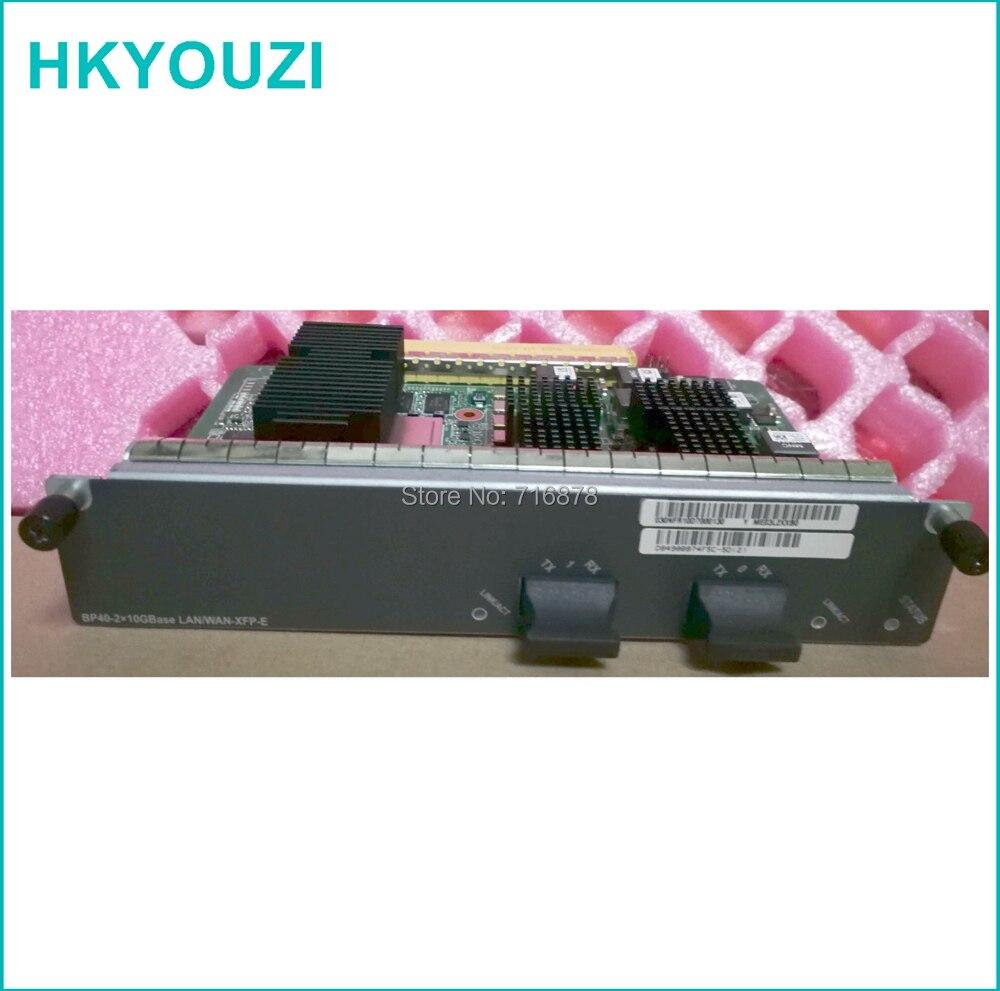 BP40-E, 2-Port 10 10gbase LAN/WAN-XFP Flexible Carte E (BP40-E) cartes utilisent pour mater carte BSUF-40