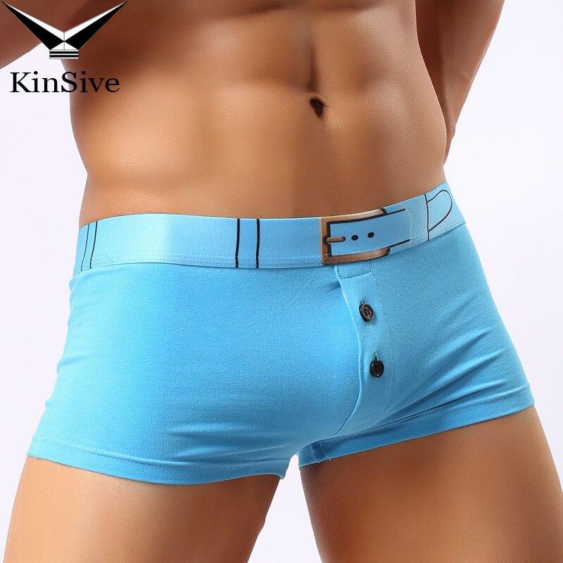 Cheap Mens Boxer Underpants 2018 Fashion Cotton Sexy Male Panties Cotton Boxer Shorts Breathable Antibiotic Mr Underwears S-L