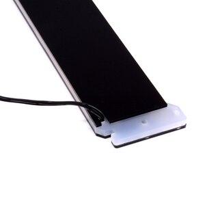 Image 3 - Özel yapılmış akrilik dirsek kullanımı Brace için GPU kartı RGB ışık boyutu 280*45*6mm düzeltme kartı uyumlu AURA sistemi 12V RGB