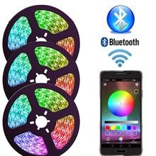 LED Strip 220v White APP Bluetooth Control 1600W Color RGB Outdoor Waterproof 1M 5M 10M 20M 100M 200M Remote control