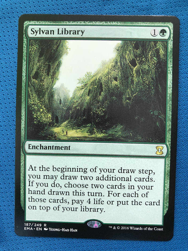 Sylvan Library BBD Hologram Magician ProxyKing 8.0 VIP The Proxy Cards To Gathering Every Single Mg Card.