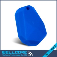 2pcs Lot Blue Silicone Eddystone Beacon NRF51822 Ibeacon Waterproof