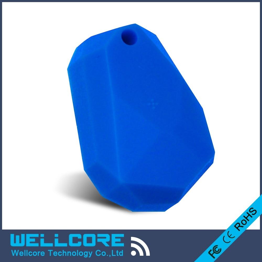 2pcs/lot Blue silicone eddystone beacon NRF51822 ibeacon Waterproof
