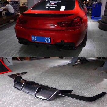 F06 F12 F13 M6 Koolstofvezel Auto Body Kits Diffuser Achter Lip Voor Bmw F06 F12 F13 M6 6 serie Achterbumper 13-16