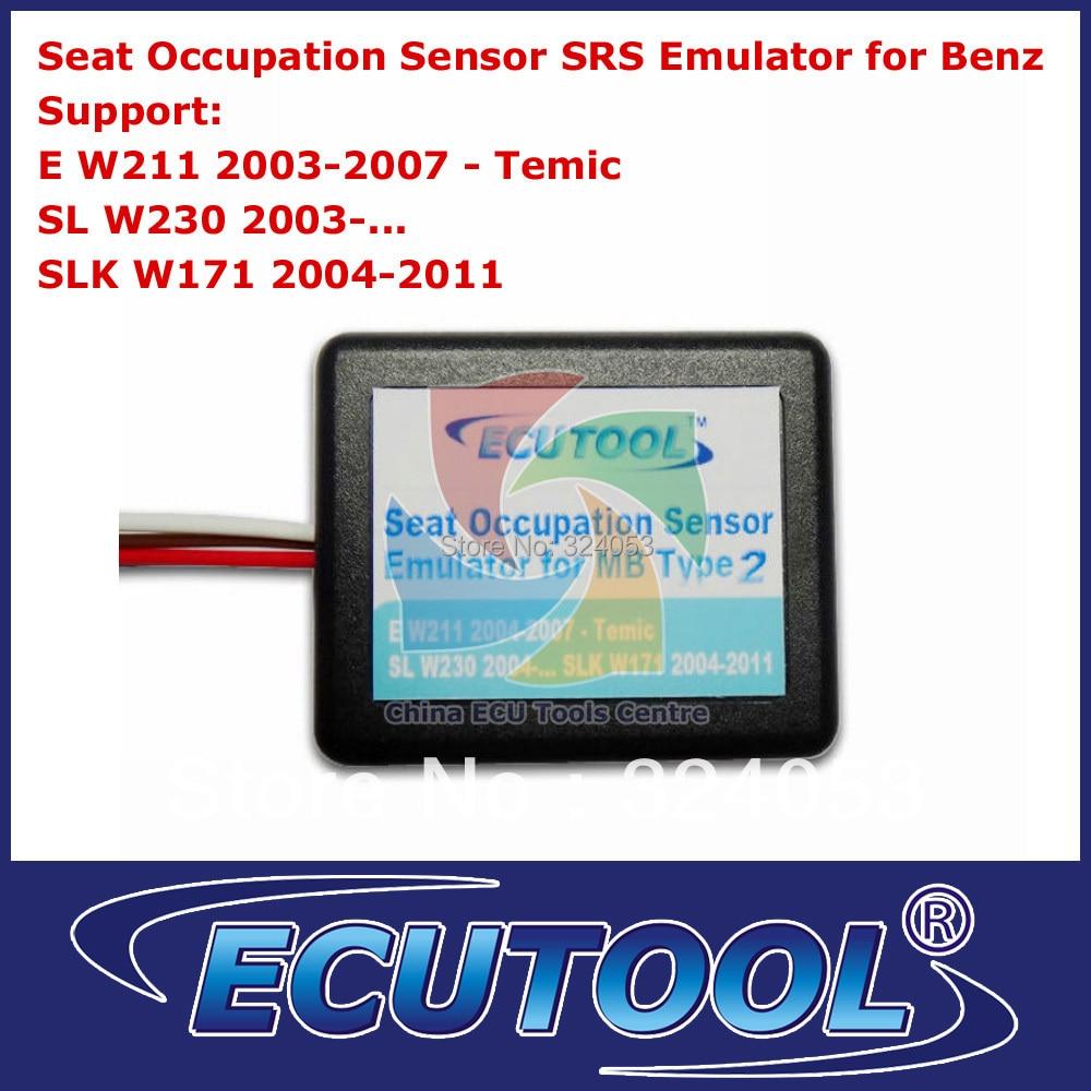 Prix pour Gros qualité A + Seat Occupation Occupation capteur SRS émulateur pour Mercedes Benz W211 W230 W171 Type 2
