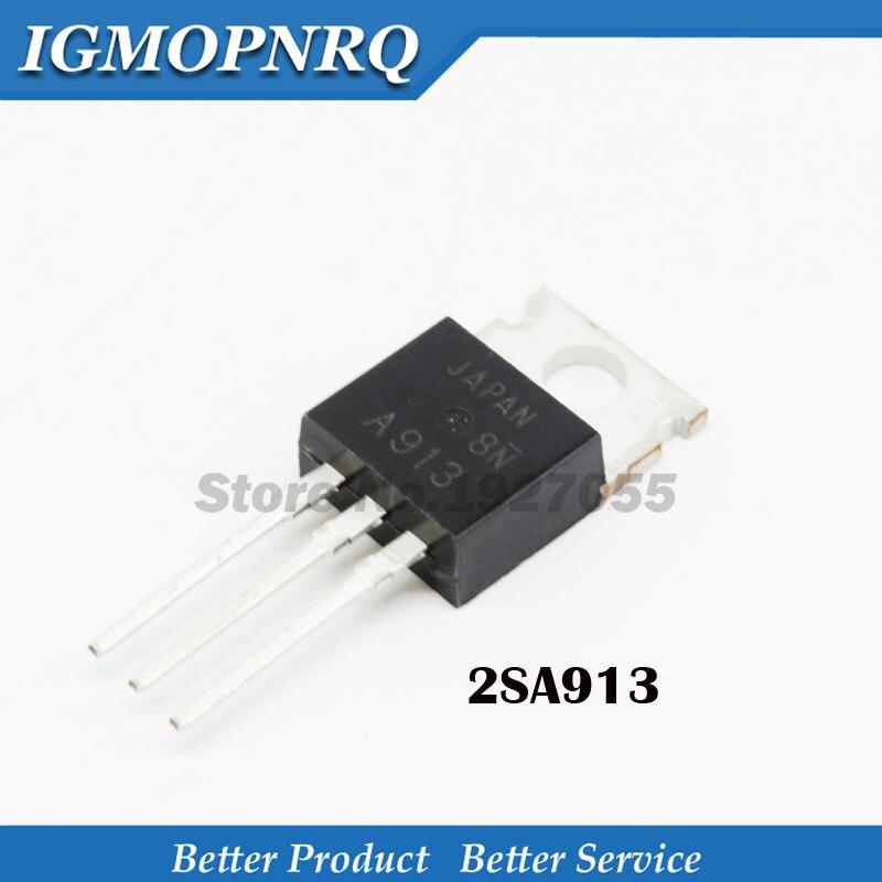 10PCS 2SA913 TO-22O  2SA913 TO-22O 1 A180v PNP  Transistor   New