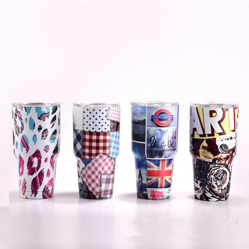 NEW 30OZ Colorful Camouflage Colorful Mugs Bilayer Insulation Cups Cars Beer Mug Large Capacity Mug best