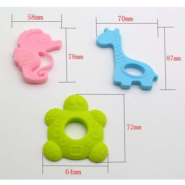 2Pcs Set of Teether and Baby Nose Cleaner