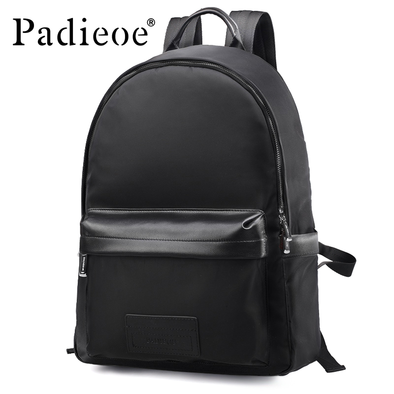 Padieoe New Designer Nylon Men Backpacks Luxury Brand High Quality Male Bagpack Fashion Casual Men's Daypacks School Bags men jeans 2017 new fashion full length solid skinny jeans men brand designer clothing denim pants luxury casual trousers male
