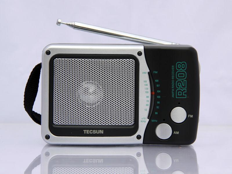 ФОТО TECSUN R-208 Small-sized Desktop FM / AM Radio Receiver
