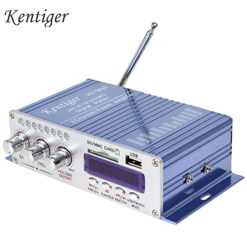 HY502S 2CH Amplificateur Sans Fil Bluetooth Salut-fi Super Bass Sortie Puissance Stéréo Amplificateur Mini Avec télécommande Infrarouge Pour FM