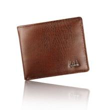 Мужская сумка для хранения, двойной бизнес кошелек из искусственной кожи, ID, кредитный держатель для карт 11,2 см* 9,5 см, кошелек с карманами