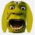 2016 Hot Sale New men/women 3d sweatshirts print Monroe pullovers Surprised Frankenstein hoodies men assassins creed hip hop