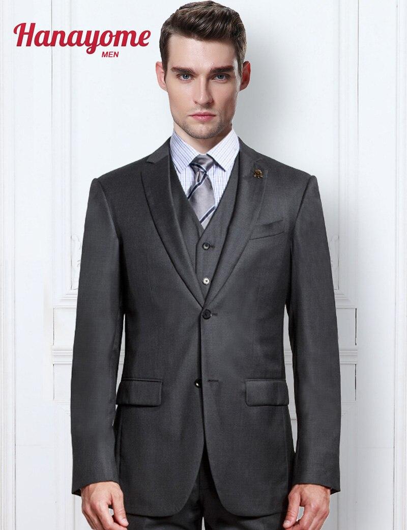 Royal Tragen Kleidung herren Westlichen Hochzeit Anzüge Grau Prom ...