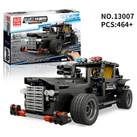 Mouldking Lepin Technic Rc Building Blocks Police Car Glory Guardians Electric Remote Control Car Rc Car Truck DIY Set For Kit