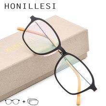 234550806 TR90 Óculos de Armação Mulheres Transparente Quadrado Retro Vintage  Prescrição Armações de Óculos Óculos de Miopia Homens Óculos
