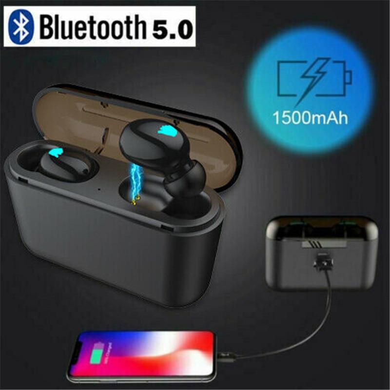 Q32 Waterproof Mini TWS True Wireless In-Ear 3D Stereo Bluetooth V5.0 Earphones Earbuds Earpieces