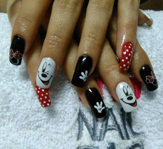 QA57 Hot Sale! !!DIY Nail Art Yang Indah Kartun Tikus Stamping Piring Manikur Lucu Cinta Kartun Stamp Piring Decore Kuku # Trytty