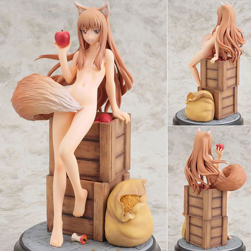 20cm Figurine Japanese Anime Spice and Wolf Holo PVC Action Figures Sexy Girl Model Toys Gift