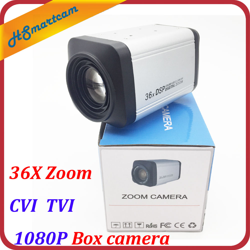 HD 2.0MP CVI 1080P Box camera 36X Zoom 3-90mm lens HD 1080P TVI Box Cameras WDR Auto IRIS DSP Zoom RJ485 Camera For HD DVR CCTV tr cvi313 3 best selling new high quality 300 500 meter transmission 3 6mm megapixel lens 2 0mp full hd 1080p camera cvi
