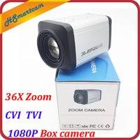 HD 2.0MP CVI 1080P Box camera 36X Zoom 3 90mm lens HD 1080P TVI Box Cameras WDR Auto IRIS DSP Zoom RJ485 Camera For HD DVR CCTV