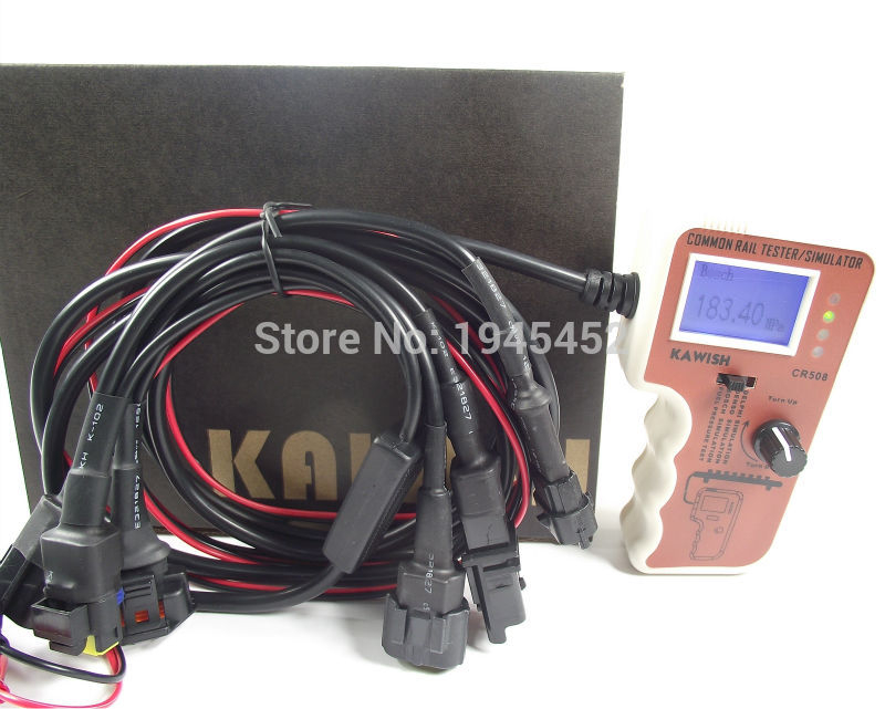 Le plus nouveau testeur et simulateur de pression à rampe commune numérique CR508 pour l'outil de diagnostic de moteur de pompe à haute pression