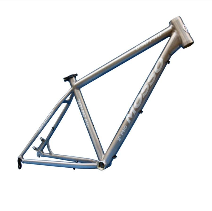 MOSSO 690 PROMTB fahrradrahmen aluminiumlegierung 1280g 26X15 16 17 ...