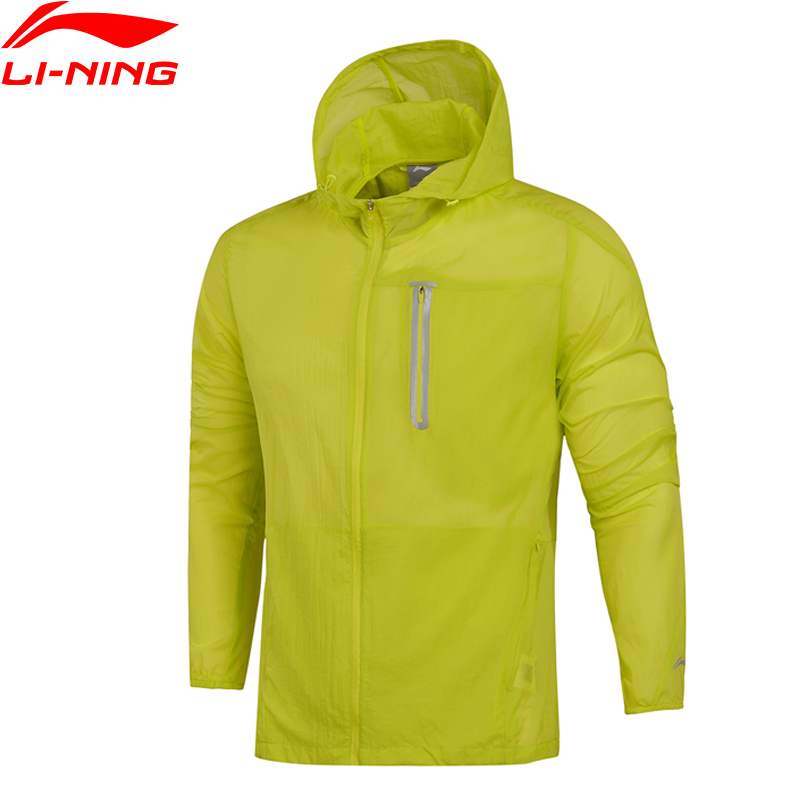 Li-Ning Men Running Coats AT PROOF SMART Waterproof LITE AT 3D Fitting LiNing Sports Windbreaker AFDM113 WWF871 men at arms