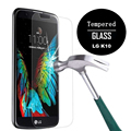 Tempered Glass Screen Protector for LG K10 / Premier LTE Ultra Clear HD Screen Guard 2.5D Round Edge High Definition 9H Hardness