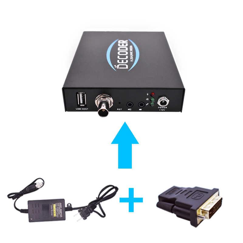 H 264 rtmp to sdi iptv strong hd decoder,Broadcasting Equipment IPTV  Streaming Decoder RTMP to HD SDI HDMI VGA AV CVBS IP Decode