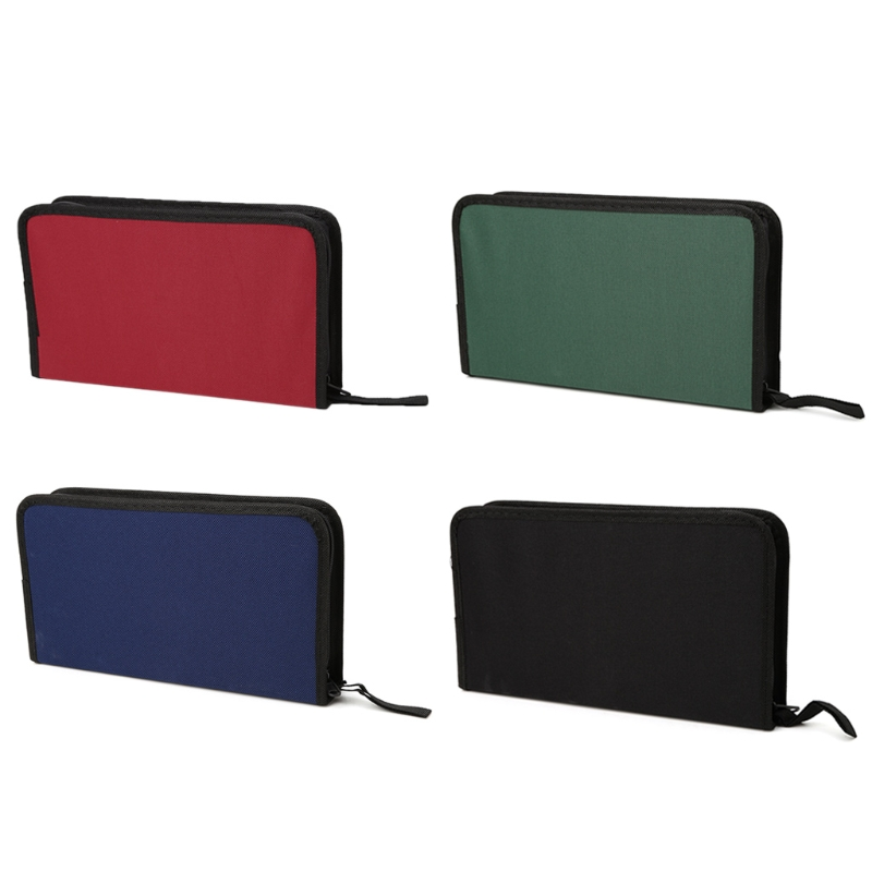 Oxford cloth 80 Sleeve CD DVD Disc Organizer Carry Case Holder Bag Wallet Storage Handbag New Casual THINKTHENDO