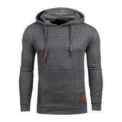 Envío Directo Hoodies hombres manga larga Color sólido Sudadera con capucha hombre Hoodie Casual ropa deportiva US tamaño envío gratis