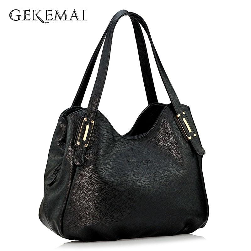 Luxury Ladies Handbags Famous Brand High Capacity Leather Shoulder Bags For Women Designer 2019 Casual Female Big Tote Bag Sac