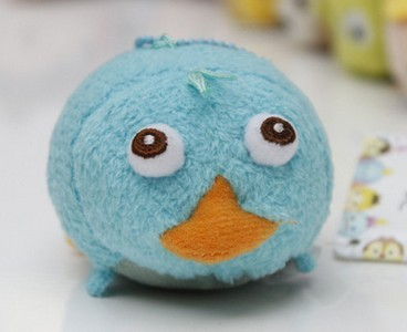 TSUM TSUM Phineas And Ferb Perry Platypus Cute Soft Stuff Plush Toy Doll Baby Birthday Gift
