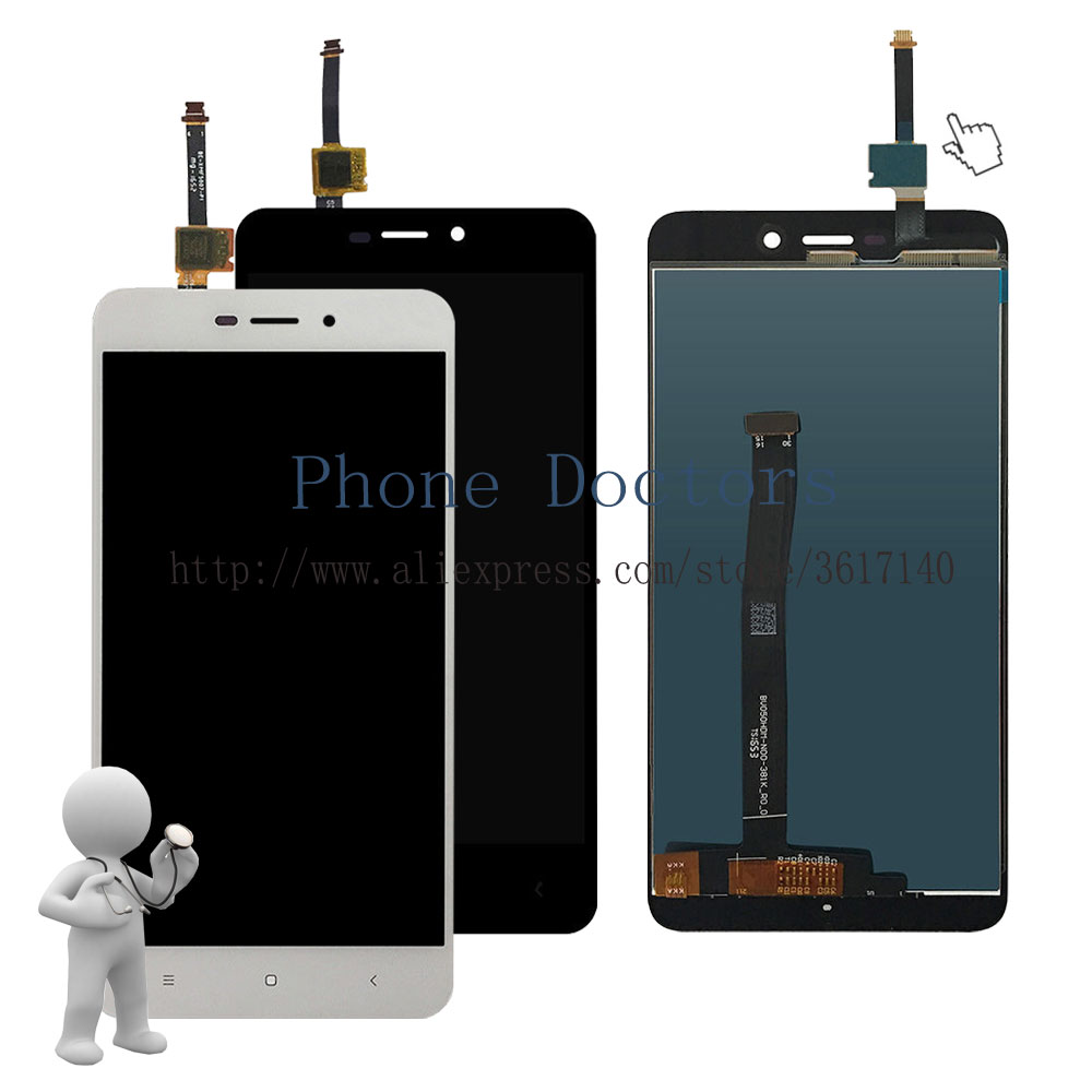 5.0 New Touch Screen Digitizer Glass + LCD Display Assembly For Xiaomi Redmi 4A / Hongmi 4A / Red Rise 4A ; 100% Tested5.0 New Touch Screen Digitizer Glass + LCD Display Assembly For Xiaomi Redmi 4A / Hongmi 4A / Red Rise 4A ; 100% Tested