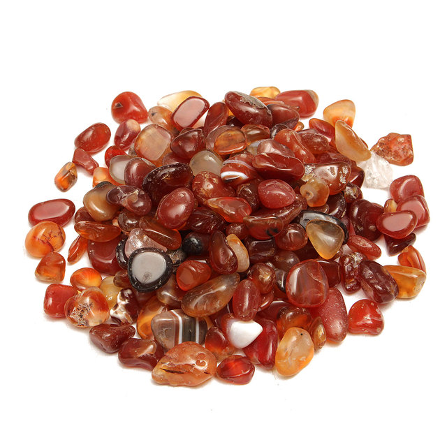 Red Stones For Garden Natural red gravel agate polished healing quartz crystal stones natural red gravel agate polished healing quartz crystal stones specimens 100g garden patio decoration ornament decorative workwithnaturefo