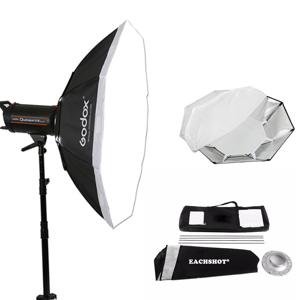 Godox Octagon Softbox Bowens 95cm Grid Honeycomb Mount for Studio Strobe Flash (SB-FW 95cm) soft box Photo Accessories aluminum steering knuckle carrier aka caster block c hub set for the traxxas x maxx