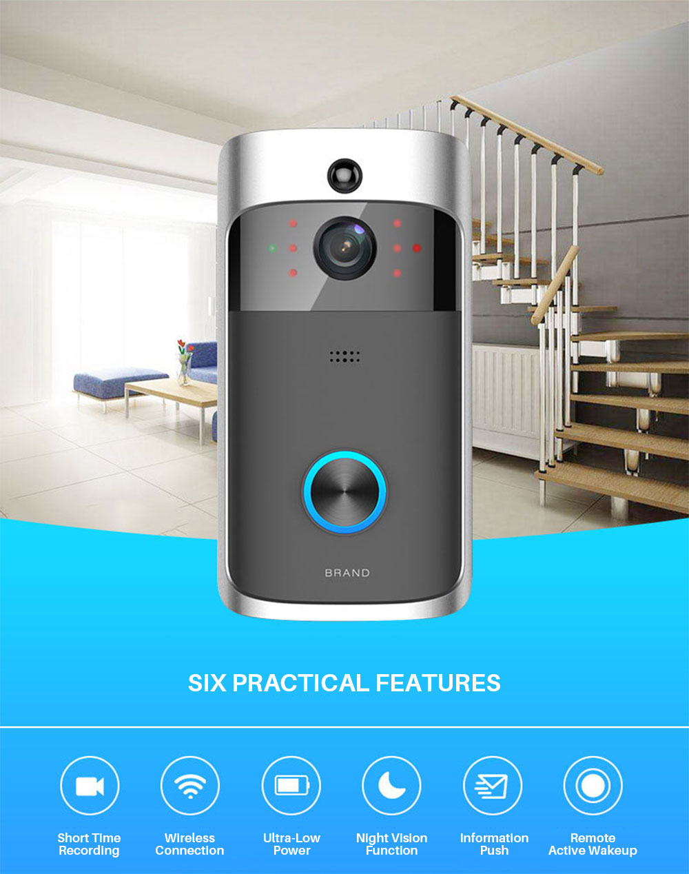 Video Doorbell WiFi  (7)