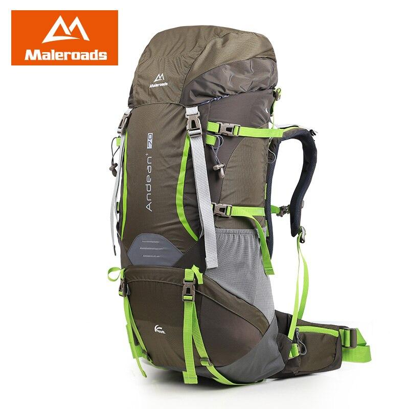 Mejor! Maleroads grande 70L CR Profesional Sistema de Subida mochila de Viaje Equipo del Engranaje Caminata Campamento Senderismo Mochila para Hombres y Mujeres - 6