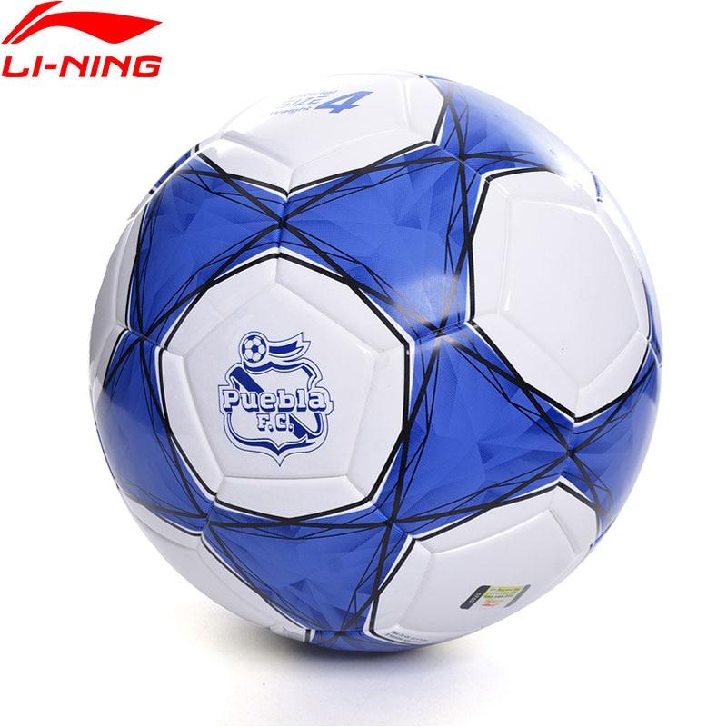 Li-Ning Puebla Club Soccer T800 Official Size 4 PVC Training Football LiNing Li Ning Sports Soccers AFQN016 ZYF339
