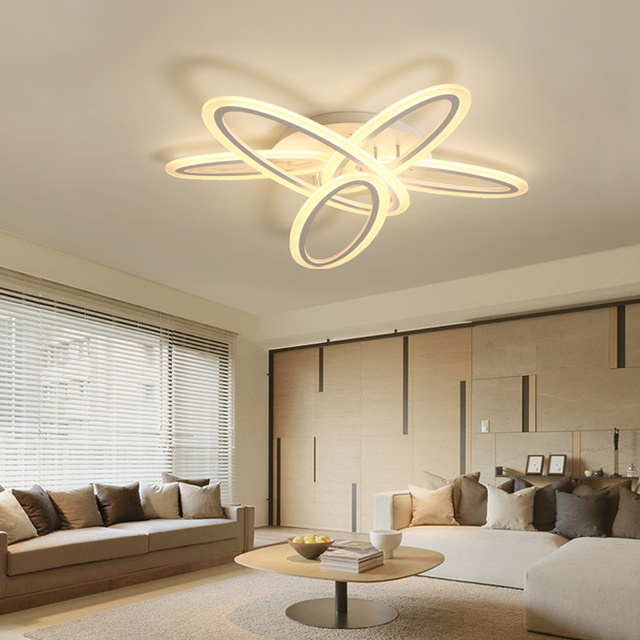 New Designs Modern Led Ceiling Chandeliers Lighting Fixture For