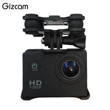 Gizcam Universal Gimbal Camera Holder For Syma X8C X8G RC Quadcopter Drone Black