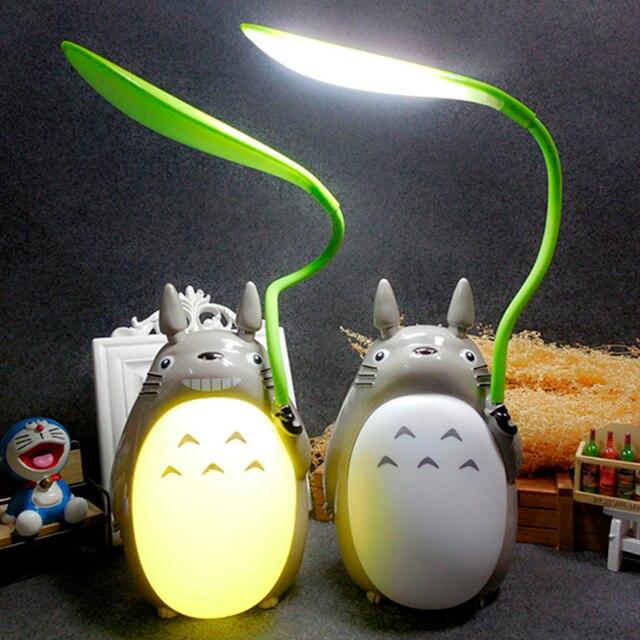 Mignon Totoro Bureau Lampe Led Lampes De Table De Lecture Kawaii
