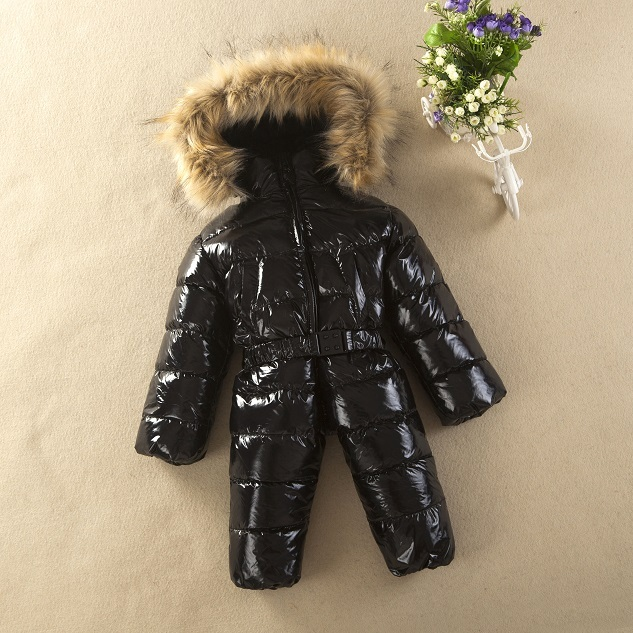Russian winter baby clothing Duck down winter coat baby boy jumpsuit baby boy jacket snowsuit for boys girls clothing