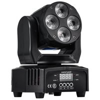 Mini Led Moving Head Light Wash Effect Light Stage Lighting Dj Lighting Party Light